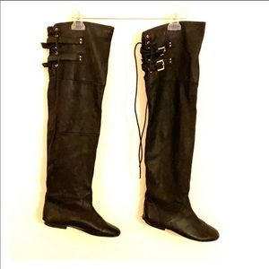 Jeffrey campbell Lubbock over the knee boots